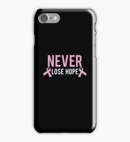 Never Lose Hope iPhone Case/Skin