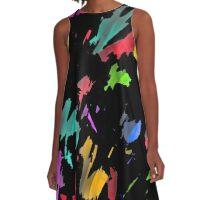 Painter was here A-Line Dress
