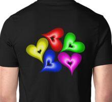Playful Hearts Unisex T-Shirt