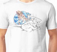 Sleeping Dog - The Golden Retriever Unisex T-Shirt