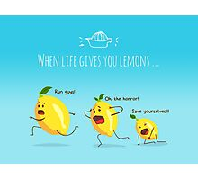 LemonAID Photographic Print