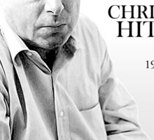 Christopher Hitchens - paint style Sticker