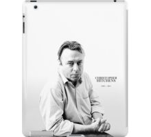 Christopher Hitchens - paint style iPad Case/Skin