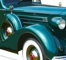 Packard Classic Car Sticker