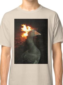 Fire Duck (goose on fire) Classic T-Shirt
