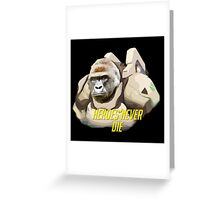 Harambe of the Game Greeting Card