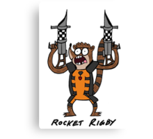 Rocket Rigby Canvas Print