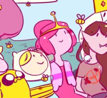 butterflies and bees // adventure time Sticker