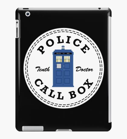 The Doctor's Converse iPad Case/Skin
