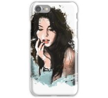 Watercolor lady iPhone Case/Skin