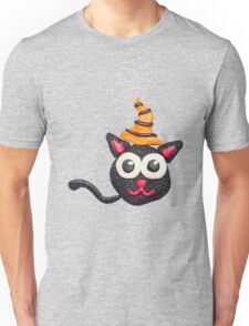Black plasticine cat Unisex T-Shirt