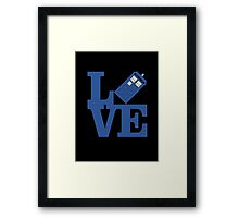Doctor Love Framed Print