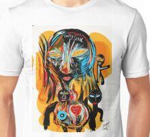 Empty soul and bleeding heart Unisex T-Shirt