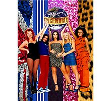 Spice Girls - The Power of Five (SPECIAL EDITION) Photographic Print