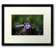 Pink Wishes Framed Print