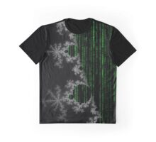 Fractal Matrix Code (Mandelbrot) Graphic T-Shirt