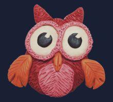 Plasticine owl Kids Tee