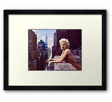 Marilyn Monroe - Things Have Changed Framed Print