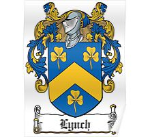 Lynch Coat of Arms (Galway, Ireland) Poster