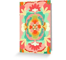 Fruity Floral Cotton Blob Greeting Card