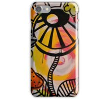 The Flower Is the Sun Is Watching iPhone Case/Skin