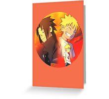 //Naruto&Sasuke #3// Greeting Card