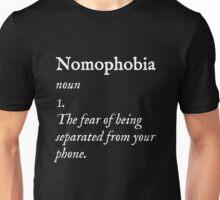 Nomophobia Unisex T-Shirt