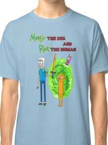 Morty the dog and Rick the human Classic T-Shirt