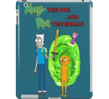 Morty the dog and Rick the human iPad Case/Skin