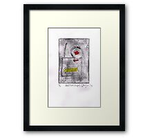 Untitled (shapes) 2014 Framed Print