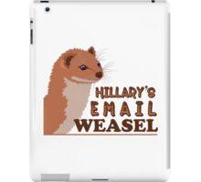 Hillary's Email Weasel FBI Director Parody iPad Case/Skin
