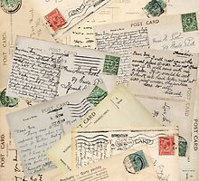 VIntage Postcards by Carolynne