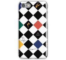 Magical Abstract Checker Print iPhone Case/Skin
