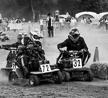 Lawnmower racing  by yampy