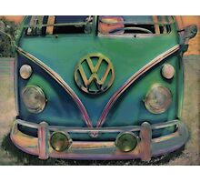 Classic VW Bus Photographic Print