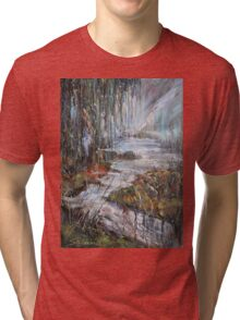 Along the River II Tri-blend T-Shirt
