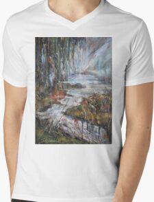 Along the River II Mens V-Neck T-Shirt