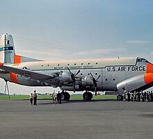 Douglas C-124C Globemaster II 52-0956 by Colin Smedley