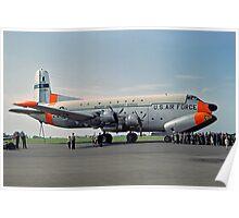 Douglas C-124C Globemaster II 52-0956 Poster