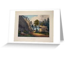 564 The mountain spring Near Cozzen's Dock West Point Greeting Card