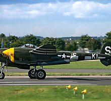 Lockheed P-38J 42-67543/KI-S NX3145X by Colin Smedley