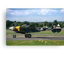 Lockheed P-38J 42-67543/KI-S NX3145X Canvas Print