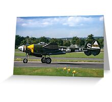 Lockheed P-38J 42-67543/KI-S NX3145X Greeting Card