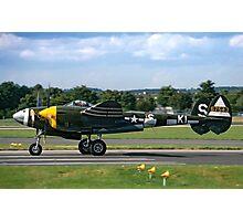 Lockheed P-38J 42-67543/KI-S NX3145X Photographic Print