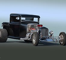 1932 Ford Pickup 'One Quick Trick' by DaveKoontz
