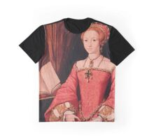 Elizabeth I Princess Portrait Graphic T-Shirt