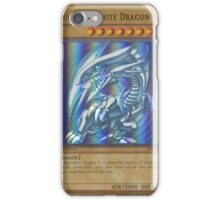 Blue-eyes white dragon iPhone Case/Skin