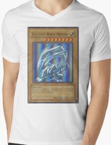 Blue-eyes white dragon Mens V-Neck T-Shirt