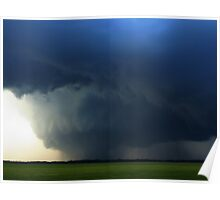 Large Wedge Tornado Poster