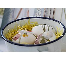 easter eggs Photographic Print